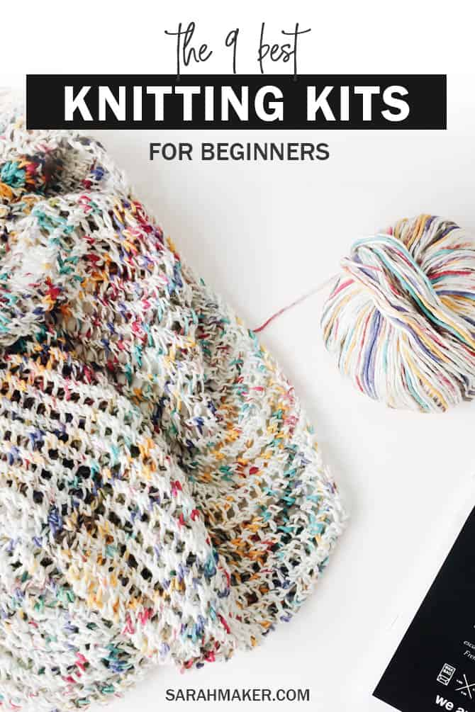 Want to learn how to knit? These fantastic at-home knitting kits are all you need to get started -- they include high-quality knitting needles, easy-to-read patterns, and all the super-cozy yarn you'll need.